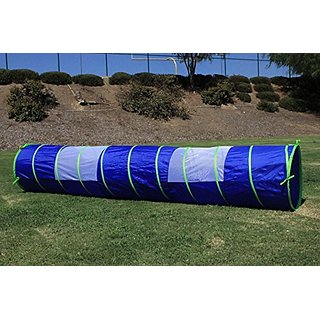 G3Elite Blue 11 Play Tunnel With Bag, Indoor Outdoor, For Kids - Boys Girls, Also Great For Pets, Fast And Easy Set-Up F