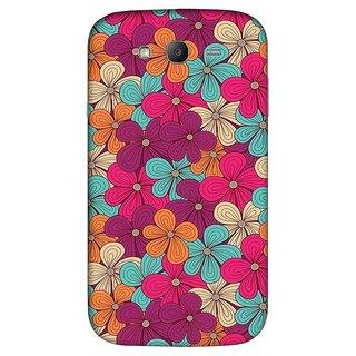 CopyCatz Artful Splatter Premium Printed Case For Samsung Grand Duos 9082