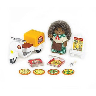Great fun for children 3 and up-Includes Harold pickle weeds Hedgehog!-Includes pizza delivery scooter!-Create your own