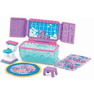 Fisher-Price Dora the Explorer Dollhouse Bathroom Furniture