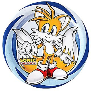Sonic the Hedgehog Party Supplies - Dessert Plates (8)