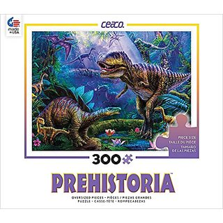 Ceaco 2229-1 Prehistoria - Dino Jungles Puzzle
