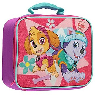 Paw Patrol Skye and Everest Pink Lunch Box - 10
