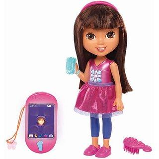 Fisher-Price Nickelodeon Dora & Friends Talking Dora & Smartphone