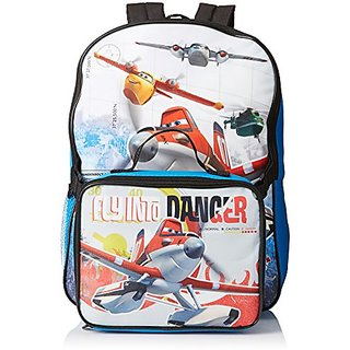 Disney Boys Planes Backpack with Lunch Kit, Multi, One Size