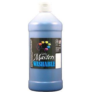 Little Mastersby Rock Paint 213-730 Washable Paint 1, Blue, 32-Ounce