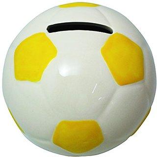 JustNile Creative Money Piggy Bank - Yellow Football