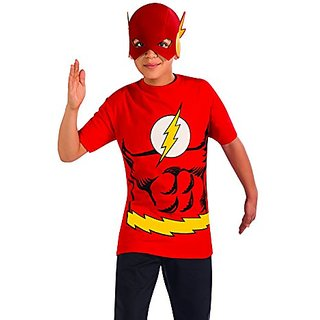 Rubies Costume The Flash Child Costume T-Shirt, Small