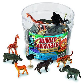 Learning Resources Jungle Animals Set of 60