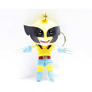 Wolverine Voodoo String Doll Keyring Keychain
