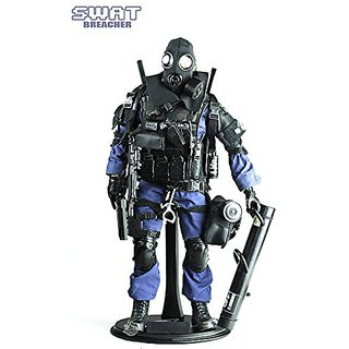 Highly Detail Special Forces Action Figure SWAT TEAM-BREACHER