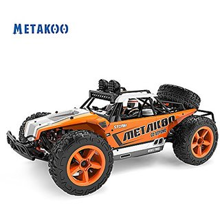 Metakoo Storm Off Road Electric Fast 4WD with LED Headlight & Spare Tire High Speed Rc Drift Truck 40km h 1:12 Remote Co