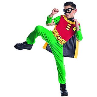 Teen Titans Childs Robin Costume, Small