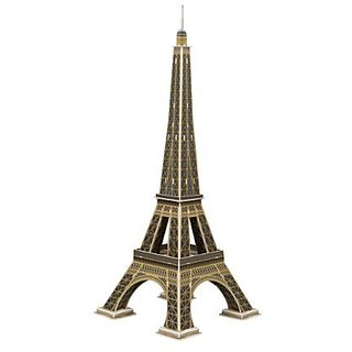 Eiffel Tower 3D Puzzle 46 pcs