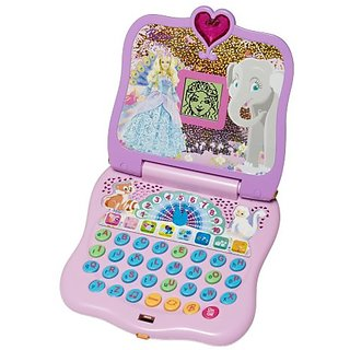 Barbie Island Princess Learning Laptop