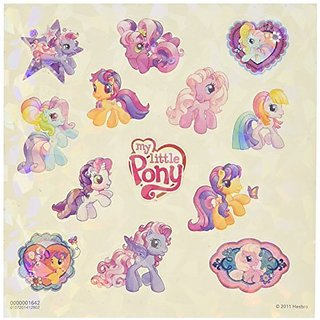 Bitty Bits-Eight prismatic sticker sheets, two unique designs-104 Stickers-Eng Fre Spa-Ages 3+