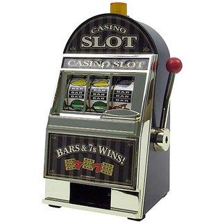 John N. Hansen Company Casino Slot Machine Bank