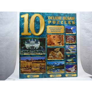 10 Full Size Deluxe Jigsaw Puzzles