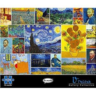 Re-marks Vincent van Gogh 1500 Piece Puzzle