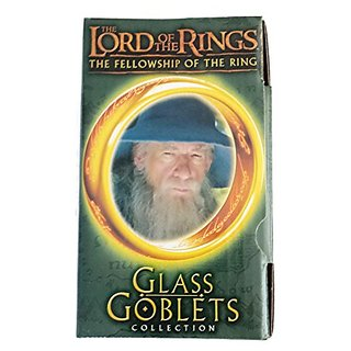 The Lord of the Rings The Fellowship of the Ring Light-Up Glass Goblets Collection - Gandalf
