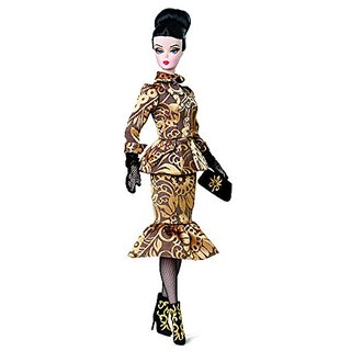 Barbie Fashion Model Collection Luciana GOLD Label