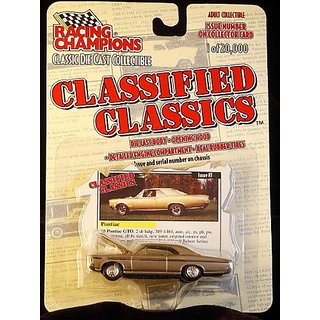 Racing Champions Classified Classics -1966 Pontiac GTO 2-door Hardtop - Limited Edition 1 20,000 - Issue #7