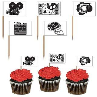 Movie Set Picks (asstd designs) (50 Pkg)