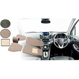 Auto Pearl 2D Car Mats For Tata Indica Vista -Beige
