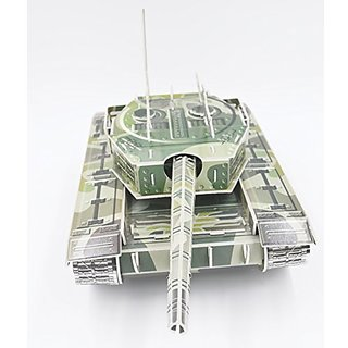 High Quality Cute Creative Magic Ballte Tank 3D Puzzle Paper Models,Europe EN71,US ASTM F963,6P and 3C quality inspectio