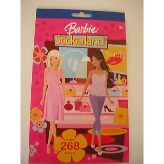 Barbie Sticker Book ~ 268 Stickers