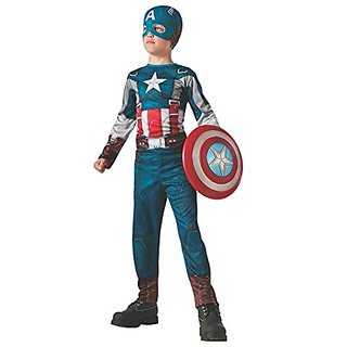 Rubies Captain America: The Winter Soldier Retro-Style Costume, Child Small
