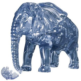 41 piece Crystal puzzle Elephant