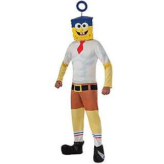 Rubies Costume SpongeBob Movie Child Costume, Medium
