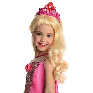 Barbie in The Pink Shoes Kristyn Wig with Attached Tiara