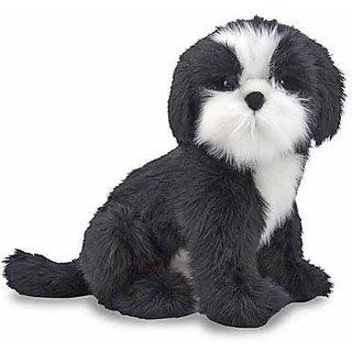 Melissa & Doug Giant Shih Tzu Dog - Lifelike Stuffed Animal