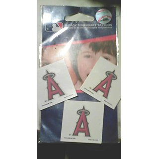 MLB Angels 70298091 Tattoo (4 Pack)