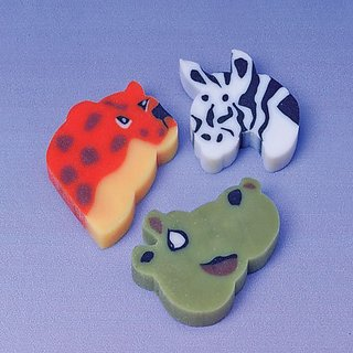 Animal Erasers by US Toy