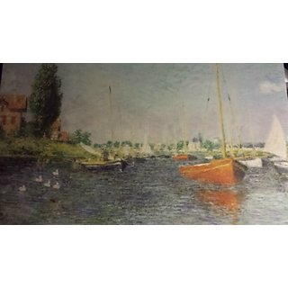 Red Boats, Argenteuil, 1875 Claude Monet, French (1840-1926)