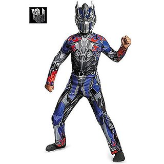 Disguise Hasbro Transformers Age of Extinction Movie Optimus Prime Classic Boys Costume, Medium 7-8