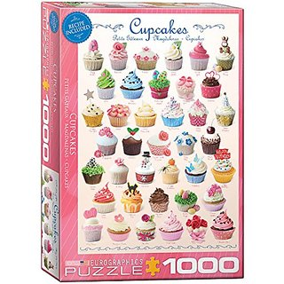 EuroGraphics Cupcakes Puzzle (1000-Piece)