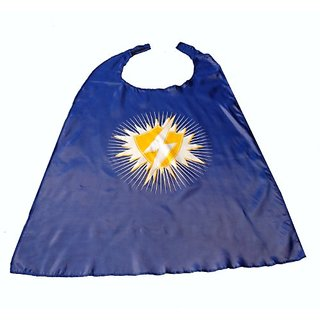 WeGlow International Blue Super Hero Capes, Set of 2, Small