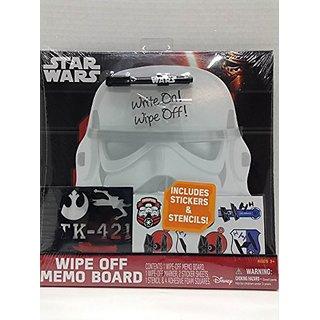 Star Wars Wipe Off Memo Board