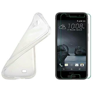APPLE I PHONE 5 SCREEN PROTECTER WITH TRANSPARENT BACK COVER