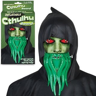 Inflatable Cthulhu Beard! by Accoutrements