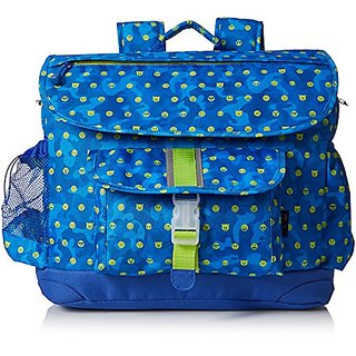 Bixbee Boys Emoti-Camo Emoji Backpack, Blue
