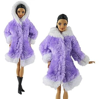 Perfect fit for Barbie & other 30cm 11.5-All clothes are handmade and good quality,100% Brand new-Package includes:1 PC