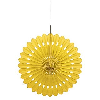 Tissue Paper Fan Decoration, 16