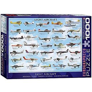 EuroGraphics General Light Aviation 1000 Piece Puzzle