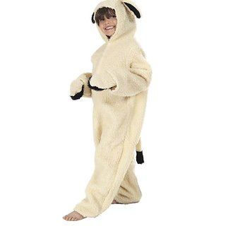Lamb or Sheep Costume for Kids 4-6 yrs