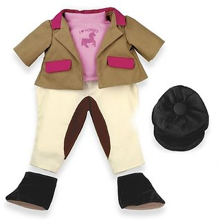 North American Bear Company Rosy Cheeks Big Sister Equestrian Outfit